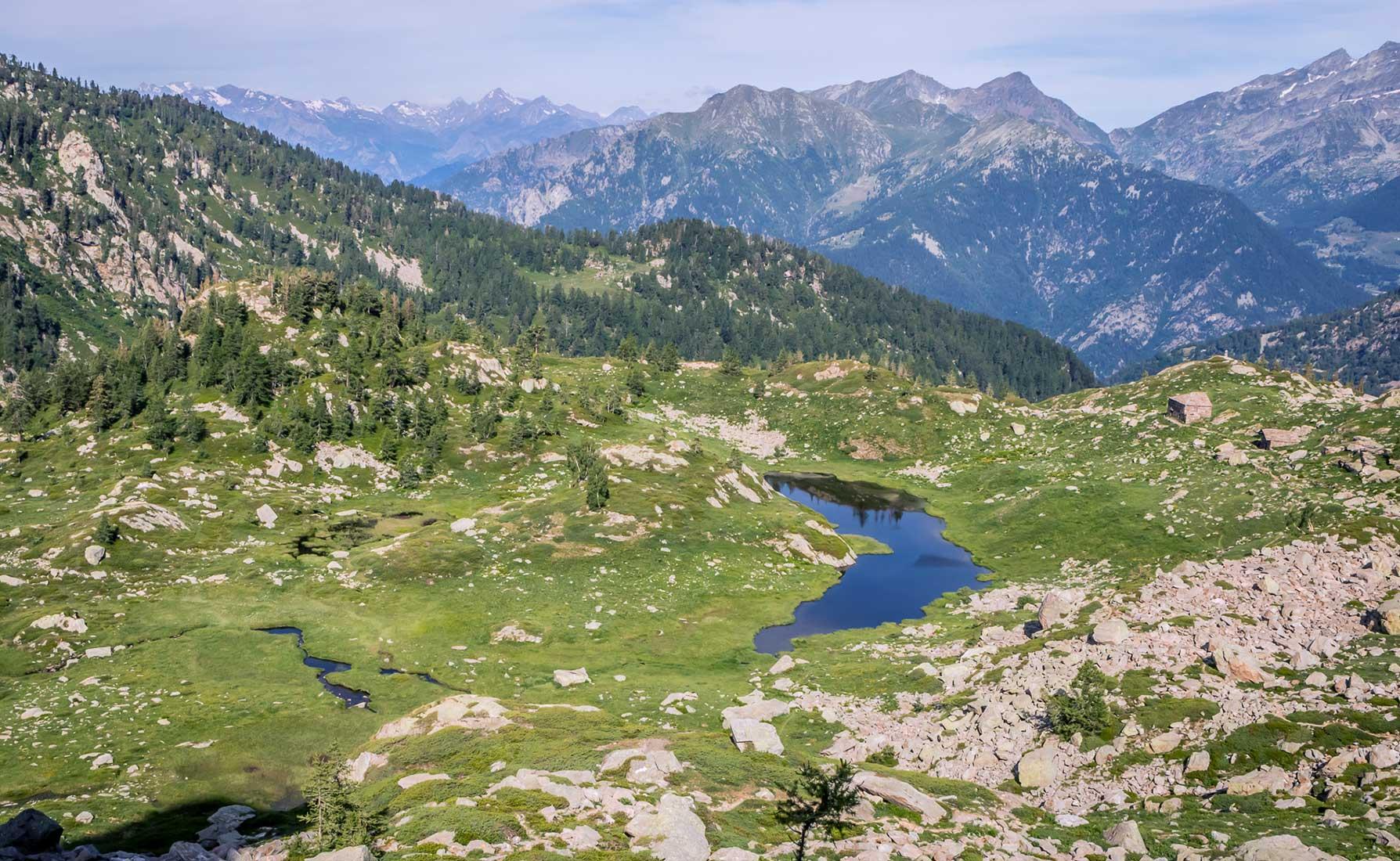 Il Lago Lei Long Superiore a 1925 metri di altitudine