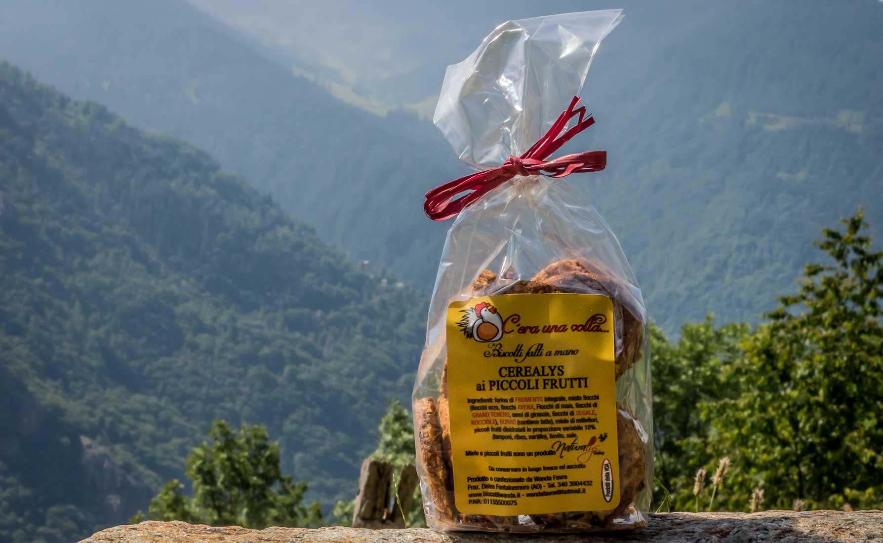 """I Cerealys ai piccoli frutti prodotti da """"C'era una volta"""" di Wanda Favre"""