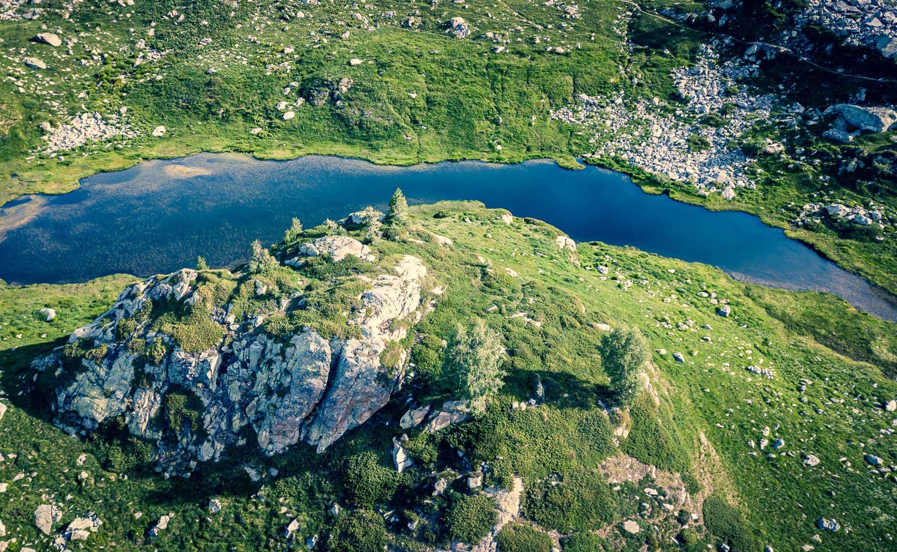 Il Lago Lei Lonc superiore