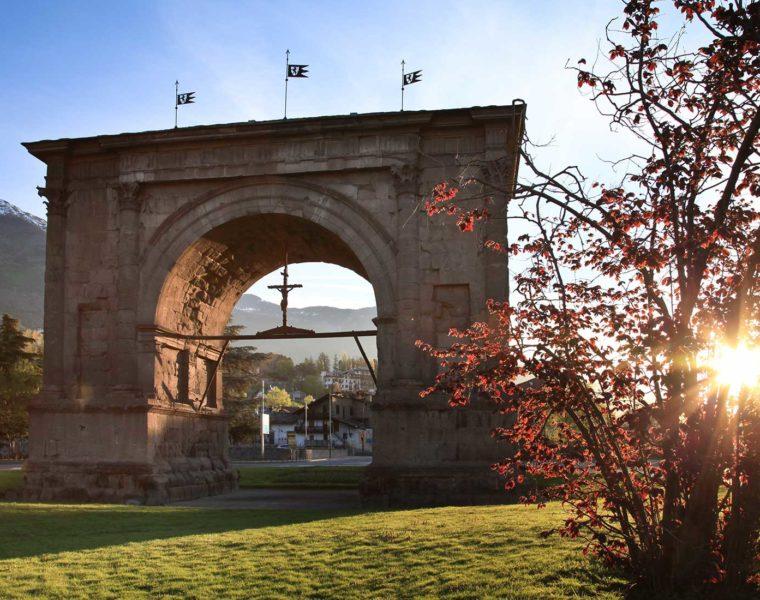 Arco d'Augusto - © Archivio Fotografico Regione Autonoma Valle d'Aosta